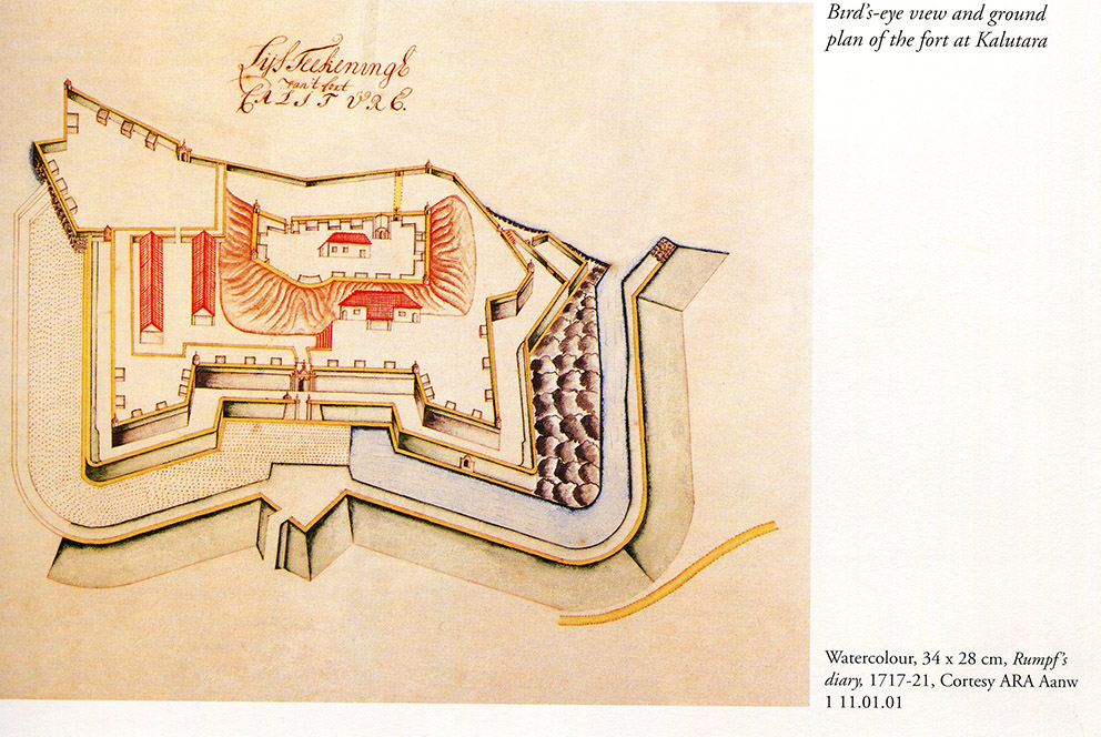 Ground Plan of Fort 1717-21