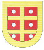 Coat of Arms of the Mellos (de Mello/Tamel) families.