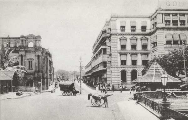 The Victoria Arcade: An early photograph of the Mackinnons Building 1910 (from the Mackinnons Travels Ltd Calendar, 2001).