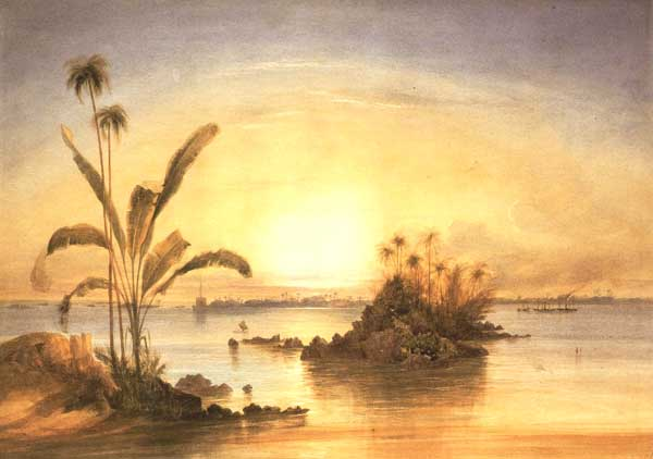 'Galle, as seen from Closenberg'        - Andrew Nicholl