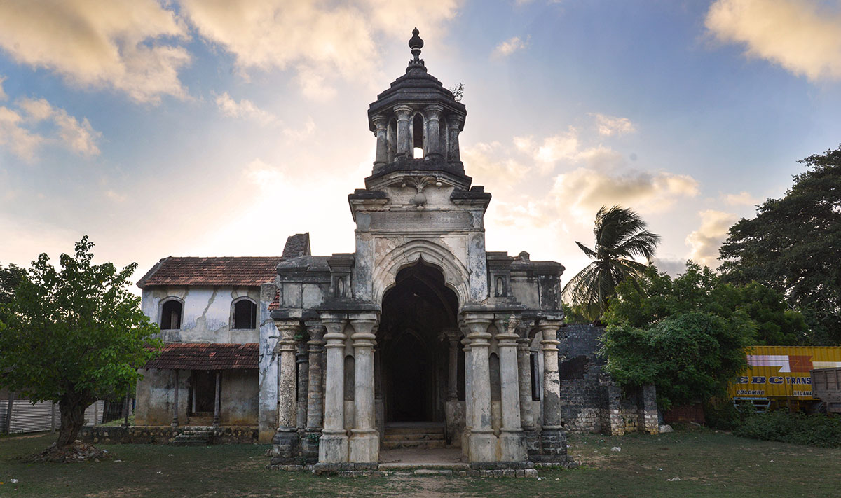 The Mandri Manai (Minister's House) almost opposite the Sangili Toppu.